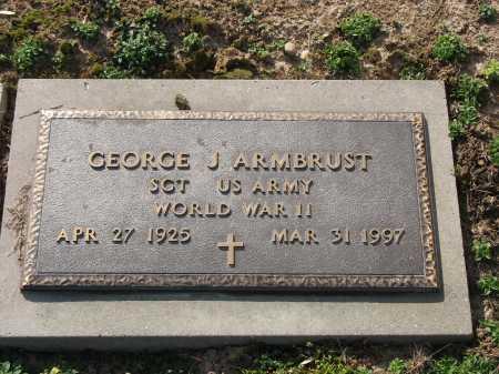 ARMBRUST, GEORGE J. - Muskingum County, Ohio | GEORGE J. ARMBRUST - Ohio Gravestone Photos