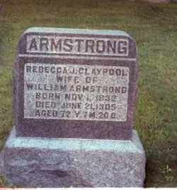 CLAYPOOL ARMSTRONG, REBECCA J. - Muskingum County, Ohio | REBECCA J. CLAYPOOL ARMSTRONG - Ohio Gravestone Photos
