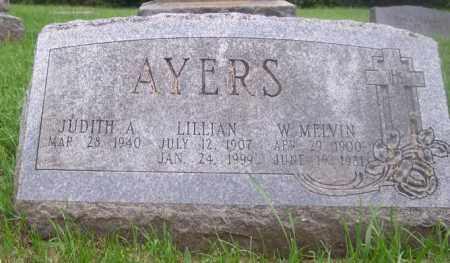 AYERS, LILLIAN - Muskingum County, Ohio | LILLIAN AYERS - Ohio Gravestone Photos
