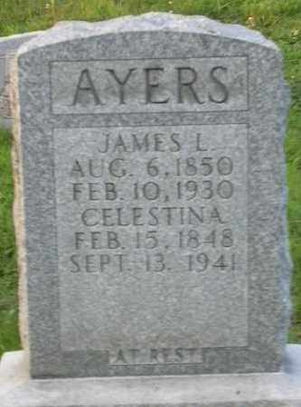 AYERS, JAMES L. - Muskingum County, Ohio | JAMES L. AYERS - Ohio Gravestone Photos