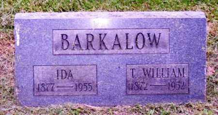 BARKALOW, T. WILLIAM - Muskingum County, Ohio | T. WILLIAM BARKALOW - Ohio Gravestone Photos