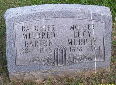 BARTON, MILDRED - Muskingum County, Ohio | MILDRED BARTON - Ohio Gravestone Photos