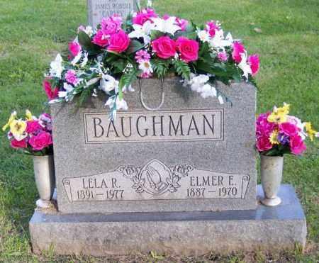 BAUGHMAN, ELMER E. - Muskingum County, Ohio   ELMER E. BAUGHMAN - Ohio Gravestone Photos