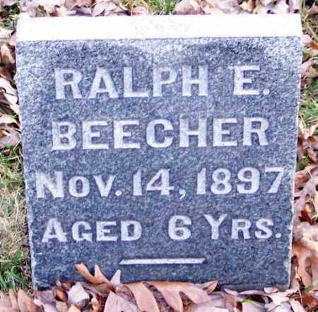 BEECHER, RALPH E. - Muskingum County, Ohio | RALPH E. BEECHER - Ohio Gravestone Photos