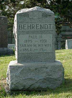 BEHRENDT, PAUL H. - Muskingum County, Ohio | PAUL H. BEHRENDT - Ohio Gravestone Photos