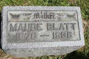 BLATT, MAUDE - Muskingum County, Ohio | MAUDE BLATT - Ohio Gravestone Photos