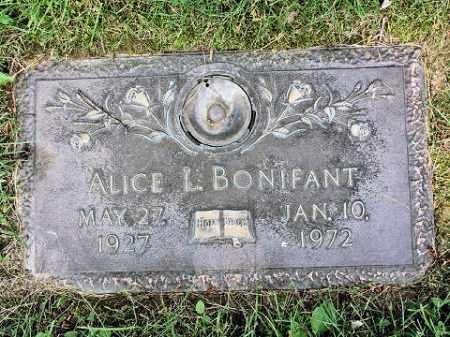 KING BONIFANT, ALICE L. - Muskingum County, Ohio | ALICE L. KING BONIFANT - Ohio Gravestone Photos