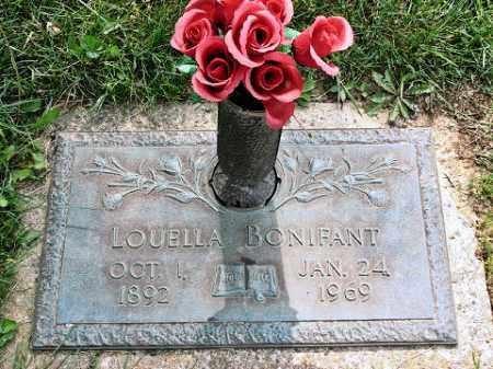 SHAVER BONIFANT, LOUELLA - Muskingum County, Ohio   LOUELLA SHAVER BONIFANT - Ohio Gravestone Photos