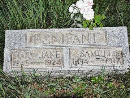BONIFANT, SAMUEL - Muskingum County, Ohio | SAMUEL BONIFANT - Ohio Gravestone Photos