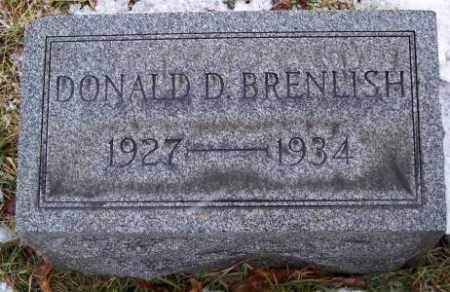 BRENLISH, DONALD D. - Muskingum County, Ohio | DONALD D. BRENLISH - Ohio Gravestone Photos