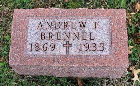 BRENNEL, ANDREW F. - Muskingum County, Ohio | ANDREW F. BRENNEL - Ohio Gravestone Photos