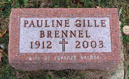 BRENNEL, PAULINE - Muskingum County, Ohio | PAULINE BRENNEL - Ohio Gravestone Photos