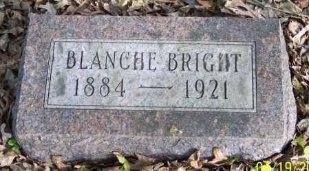 BRIGHT, BLANCHE - Muskingum County, Ohio | BLANCHE BRIGHT - Ohio Gravestone Photos