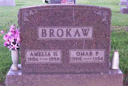 BROKAW, AMELIA H. - Muskingum County, Ohio   AMELIA H. BROKAW - Ohio Gravestone Photos