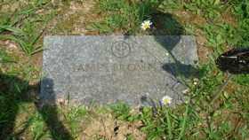 BROWN, JAMES - Muskingum County, Ohio | JAMES BROWN - Ohio Gravestone Photos