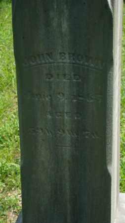 BROWN, JOHN - Muskingum County, Ohio   JOHN BROWN - Ohio Gravestone Photos
