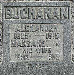 MCDONALD BUCHANAN, MARGARET J. - Muskingum County, Ohio | MARGARET J. MCDONALD BUCHANAN - Ohio Gravestone Photos