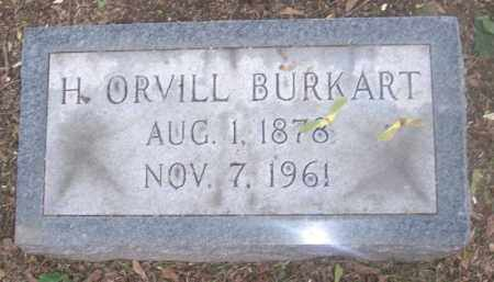 BURKART, H. ORVILL - Muskingum County, Ohio | H. ORVILL BURKART - Ohio Gravestone Photos