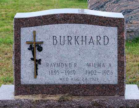 BURKHARD, WILMA A. - Muskingum County, Ohio   WILMA A. BURKHARD - Ohio Gravestone Photos