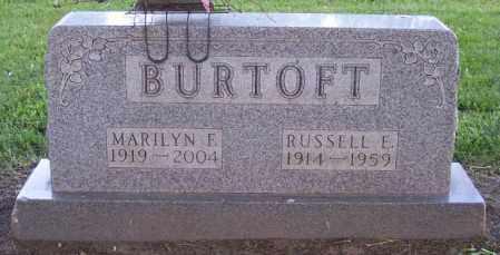 BURTOFF, RUSSELL E. - Muskingum County, Ohio | RUSSELL E. BURTOFF - Ohio Gravestone Photos