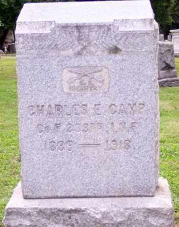 CAMP, CHARLES E. - Muskingum County, Ohio | CHARLES E. CAMP - Ohio Gravestone Photos