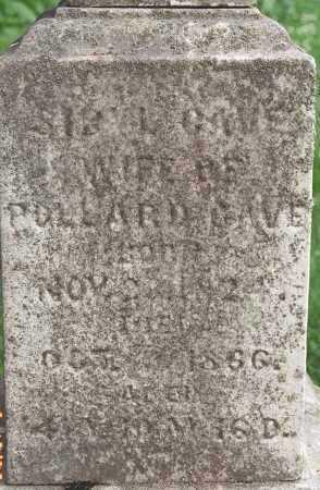 CAVE, SYBIL - Muskingum County, Ohio | SYBIL CAVE - Ohio Gravestone Photos