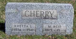 CHERRY, RHETTA L - Muskingum County, Ohio | RHETTA L CHERRY - Ohio Gravestone Photos