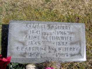 CHERRY, SAMUEL - Muskingum County, Ohio | SAMUEL CHERRY - Ohio Gravestone Photos