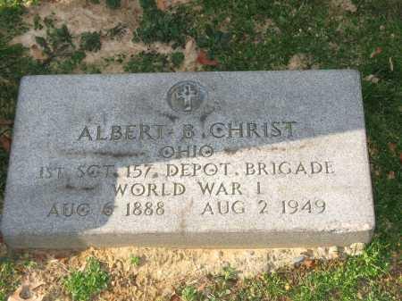 CHRIST, ALBERT B - Muskingum County, Ohio | ALBERT B CHRIST - Ohio Gravestone Photos
