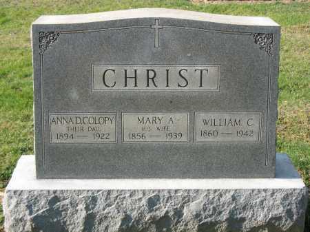 COLOPY, ANNA D - Muskingum County, Ohio | ANNA D COLOPY - Ohio Gravestone Photos