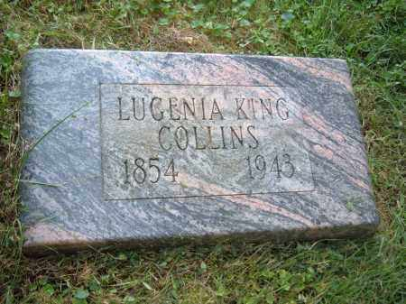 KING COLLINS, LUGENIA KING - Muskingum County, Ohio | LUGENIA KING KING COLLINS - Ohio Gravestone Photos