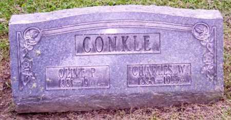 CONKLE, OLIVE P. - Muskingum County, Ohio | OLIVE P. CONKLE - Ohio Gravestone Photos