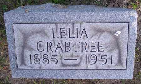 CRABTREE, LELIA - Muskingum County, Ohio | LELIA CRABTREE - Ohio Gravestone Photos