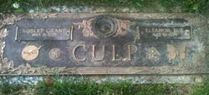 CULP, ELEANOR - Muskingum County, Ohio | ELEANOR CULP - Ohio Gravestone Photos