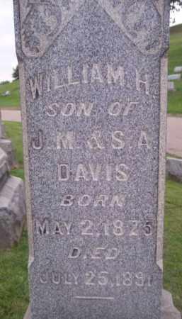 DAVIS, WILLIAM H. - Muskingum County, Ohio | WILLIAM H. DAVIS - Ohio Gravestone Photos
