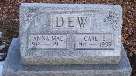DEW, CARL E. - Muskingum County, Ohio | CARL E. DEW - Ohio Gravestone Photos