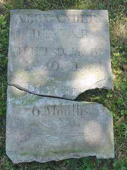DEWAR, ALEXANDER - Muskingum County, Ohio   ALEXANDER DEWAR - Ohio Gravestone Photos