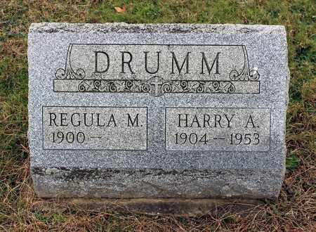 DRUMM, REGULAR - Muskingum County, Ohio | REGULAR DRUMM - Ohio Gravestone Photos