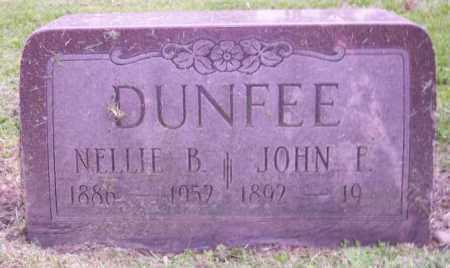 DUNFEE, NELLIE B. - Muskingum County, Ohio | NELLIE B. DUNFEE - Ohio Gravestone Photos