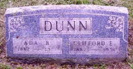 DUNN, ADA B. - Muskingum County, Ohio | ADA B. DUNN - Ohio Gravestone Photos