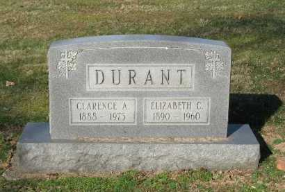 DURANT, CLARENCE A. - Muskingum County, Ohio | CLARENCE A. DURANT - Ohio Gravestone Photos