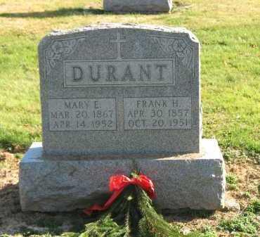 DURANT, FRANK H. - Muskingum County, Ohio | FRANK H. DURANT - Ohio Gravestone Photos