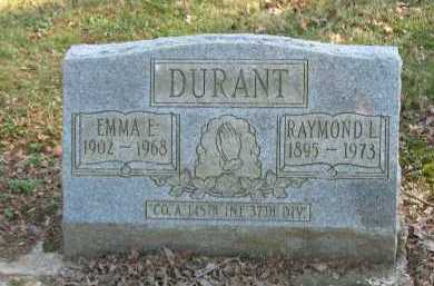 DURANT, EMMA E. - Muskingum County, Ohio | EMMA E. DURANT - Ohio Gravestone Photos
