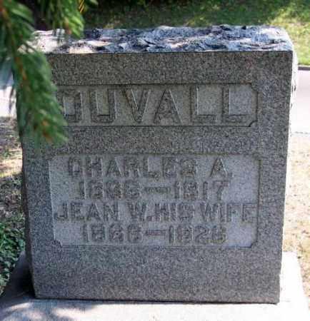 DUVALL, JEAN W. - Muskingum County, Ohio | JEAN W. DUVALL - Ohio Gravestone Photos