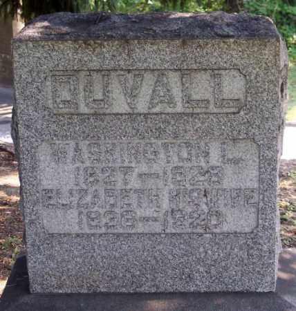 DUVALL, WASHINGTON L. - Muskingum County, Ohio | WASHINGTON L. DUVALL - Ohio Gravestone Photos