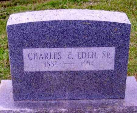 EDEN, CHARLES E. SR. - Muskingum County, Ohio   CHARLES E. SR. EDEN - Ohio Gravestone Photos
