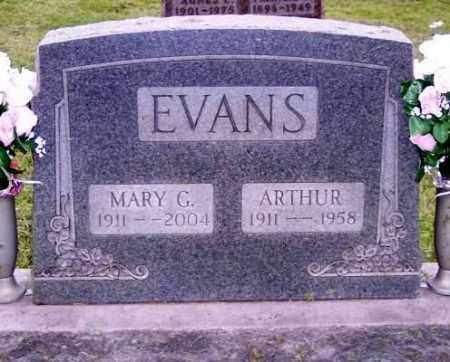 EVANS, MARY G. - Muskingum County, Ohio | MARY G. EVANS - Ohio Gravestone Photos