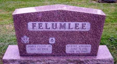 FELUMLEE, JAMES FLOYD JR. - Muskingum County, Ohio | JAMES FLOYD JR. FELUMLEE - Ohio Gravestone Photos