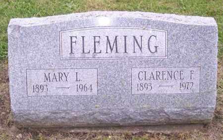 FLEMING, CLARENCE F. - Muskingum County, Ohio | CLARENCE F. FLEMING - Ohio Gravestone Photos