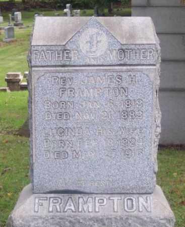 FRAMPTON, LUCINDA - Muskingum County, Ohio | LUCINDA FRAMPTON - Ohio Gravestone Photos